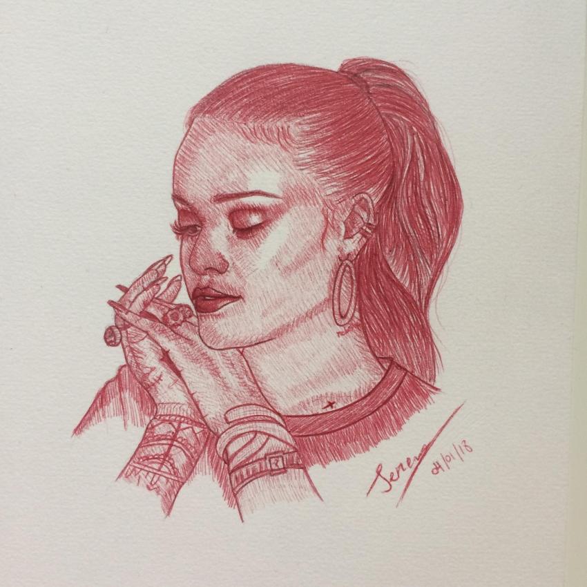 Rihanna by SerenaToscano
